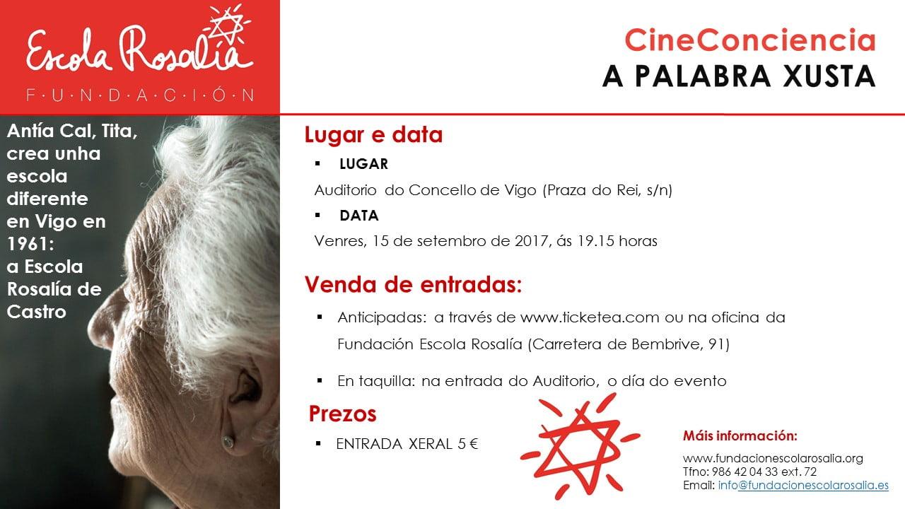 CineConciencia: A Palabra Xusta
