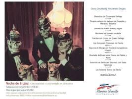 Noche de Brujas – Cena/Concierto