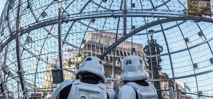 Invasión de la Legion Star Wars en Vigo