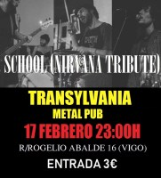School (Tributo a Nirvana)- Transylvania Metal Pub