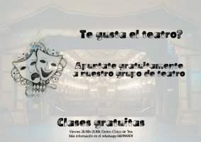 Casting Actores – Clases de Teatro Gratis en Teis