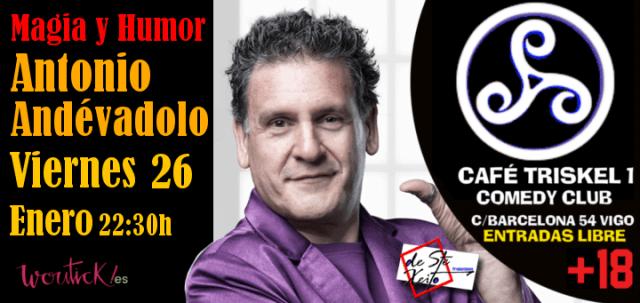Magia y Humor de Antonio Andévalo