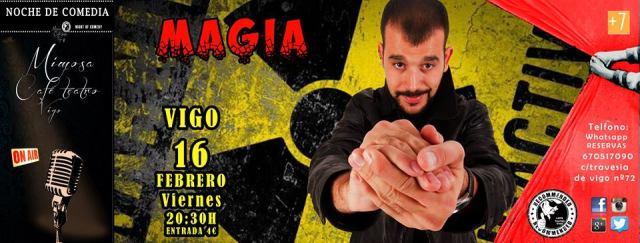 Andrés Madrugo, Magia Gamberra