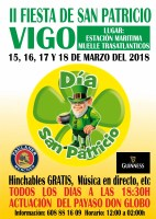 II Fiesta de San Patricio en Vigo