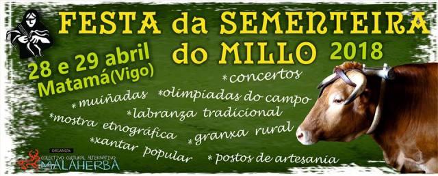 Festa da Sementeira do Millo 2018