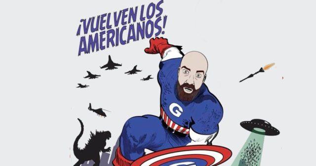 Goyo Jiménez Aiguantulivinamérica 2