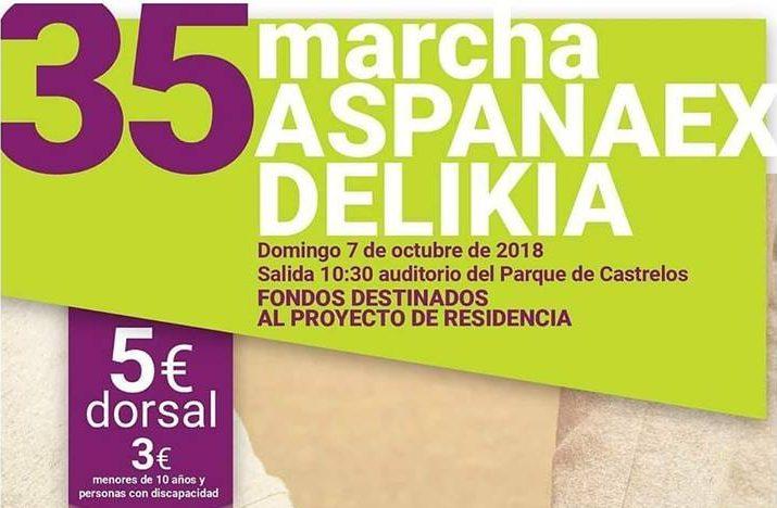 Marcha ASPANAEX en Vigo 2018