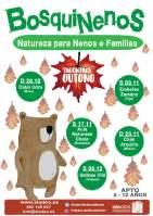 Bosquinenos: Natureza para nenos e familias