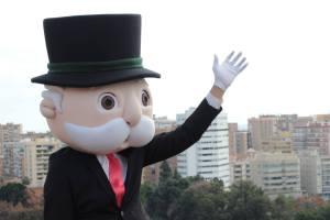 Mr. Monopoly visita Vigo