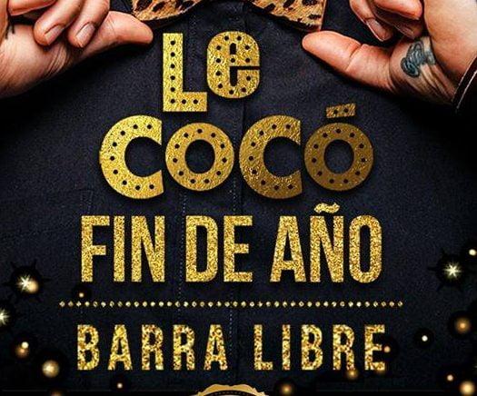 Fiesta Año Nuevo 2019 en Le CoCó