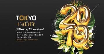 Fiesta Año Nuevo 2019 Tokio y Gatsby
