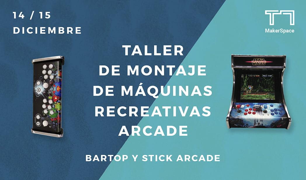 Taller de montaje de Máquinas Recreativas Arcade