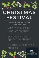 Christmas Festival Beach Center Vao