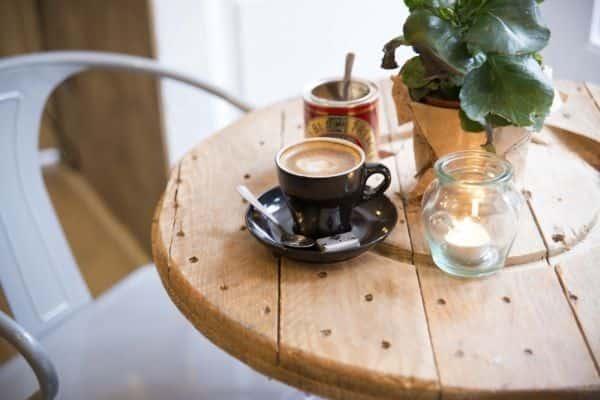 Un rincón de Mür Café