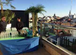 Las vistas desde la terraza