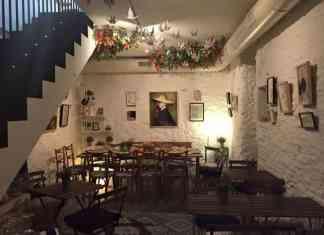 Ganz Café te enamora sólo con su estética