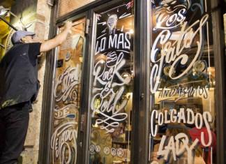 La decoración de escaparates es sólo una de las muchas actividades de Madrid me Gusta