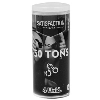 Bolinhas explosivas excitante 50 tons da marca Satisfaction.