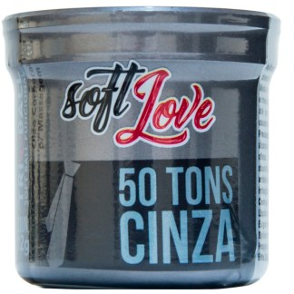 Soft Ball Triball 50 tons cinza efeito excitante da marca Soft Love.