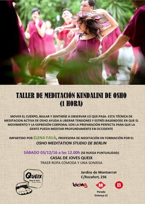 Taller de Meditació Kundalini de Osho
