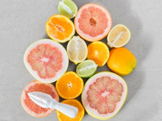 """Simply Seasonal Citrus"" Food & Prop Styling for TABLE Magazine Winter Issue"