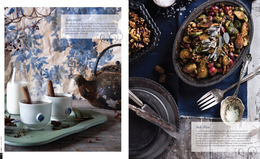 "Food & Prop Styling for ""Big Batch Recipes"" Story in TABLE Magazine // www.Quelcy.com"