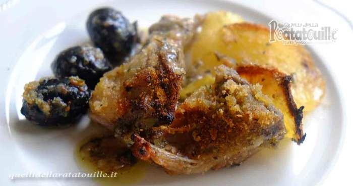 capretto al forno con patate e olive
