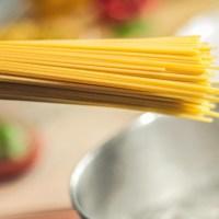 La cottura perfetta della pastasciutta.