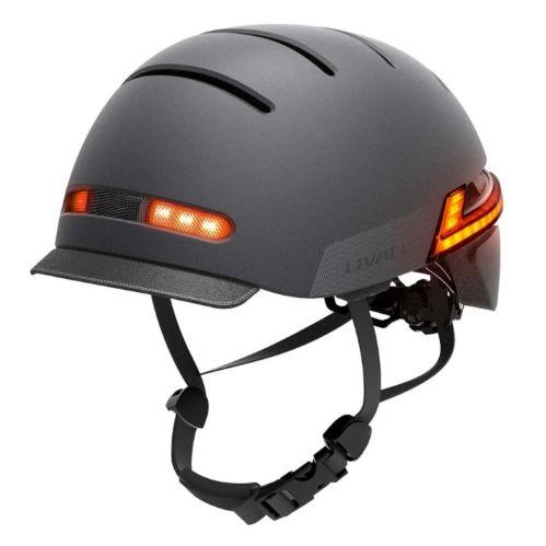 Livall BH 51 fond blanc ,comparatif casque connecté pour vélo