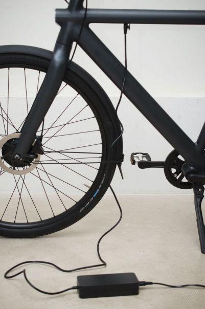 la batterie du vélo