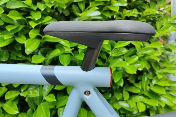 VanMoof S3 vélo électrique connecté zoom selle