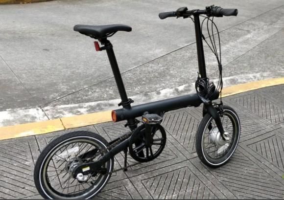 Xiaomi Mi Smart vélo électrique pliant léger vue globale