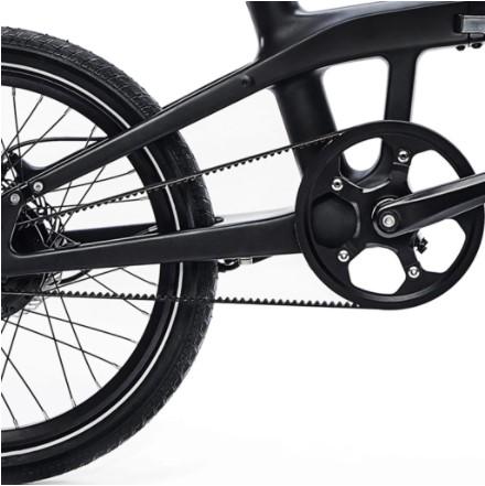 courroie Carbo X vélo électrqique pliant haut de gamme ultra légermodèle X