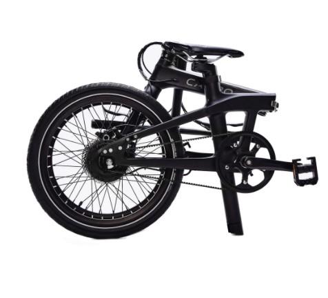 version pliée Carbo X vélo électrique pliant haut de gamme ultra léger modèle X
