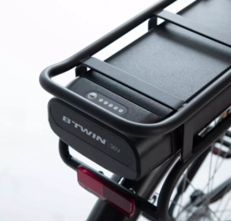 batterie Btwin du vélo électrique Decathlon entrée de gamme