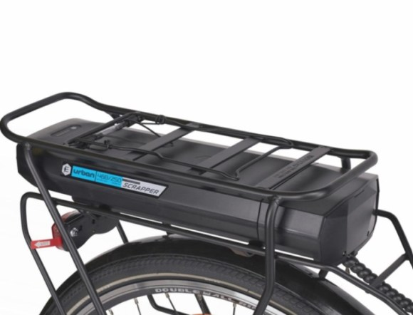 Scrapper E Urban 2.0 vélo électrique batterie