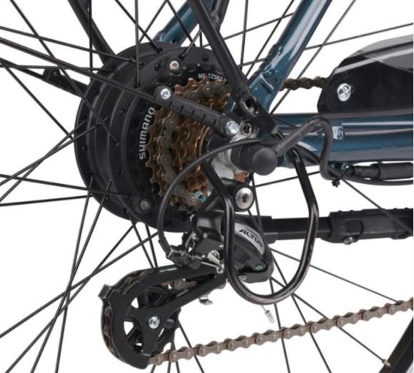 Scrapper E Urban 2.0 vélo électrique transmission