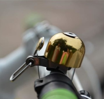 Sonnette rockbros or accessoires vélo