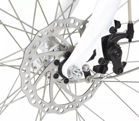 Elops 920 E VAE vélo électrique de ville DECATHLON freins à disque