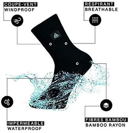 ver jari chaussettes imperméables pluie 1