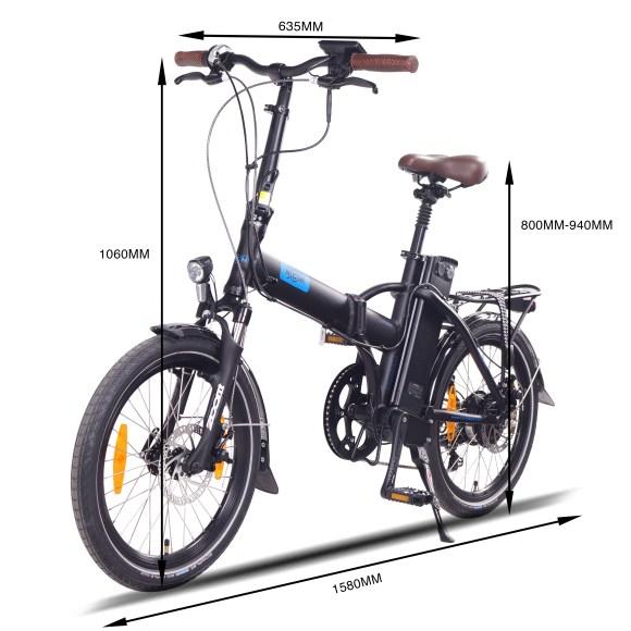 NCM London Vélo électrique pliant photo 5