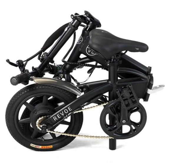 Revoe vélo electrique pliant plié