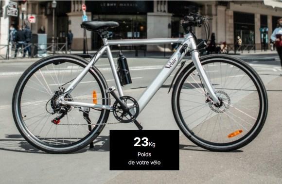 VELAIR NOVA vélo électrique ville photo 5