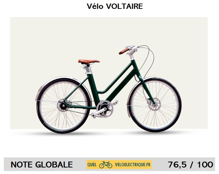 Vélo Voltaire Note Présentation 2021 OK