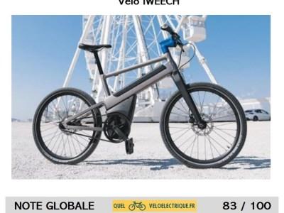 2021 Iweech vélo connecté électrique, Test et note par quelveloelectrique.fr
