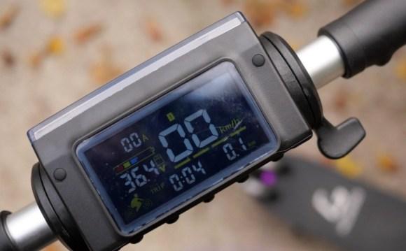 KUGOO S1 PRO trottinette électrique display