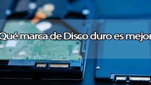 ¿Qué marca de disco duro es mejor?