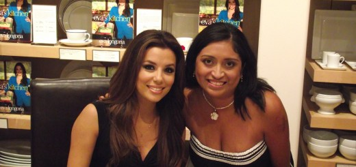 Cooking with Friends and Family - Eva Longoria at Eva's Kitchen Book Signing - QueMeansWhat.com