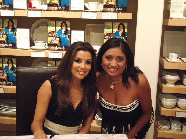Cooking with Love for Friends and Family - Eva Longoria at Eva's Kitchen Book Signing - QueMeansWhat.com