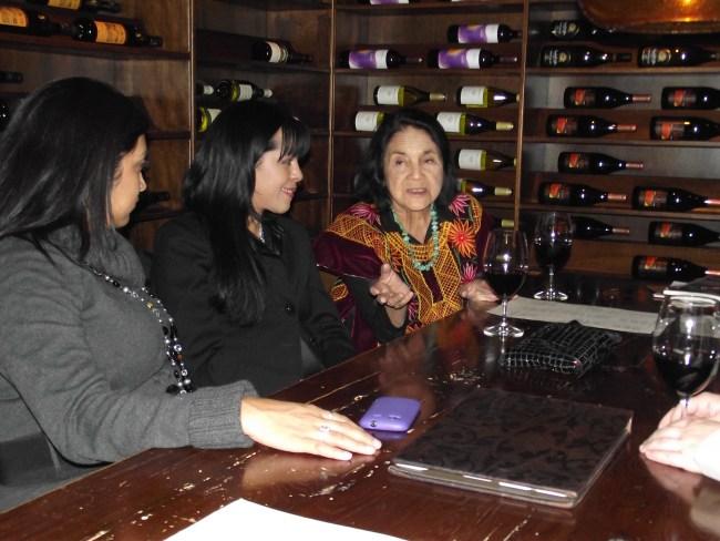 Dolores Huerta 2011 QueMeansWhat.com